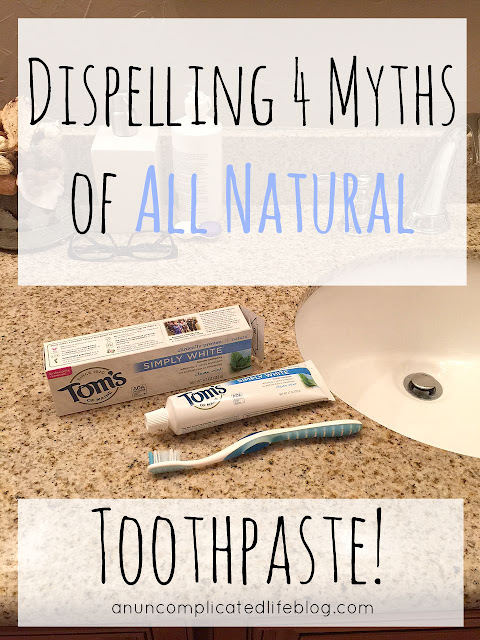 Tom's of Maine all natural toothpaste #NaturalGoodness #ad #CollectiveBias