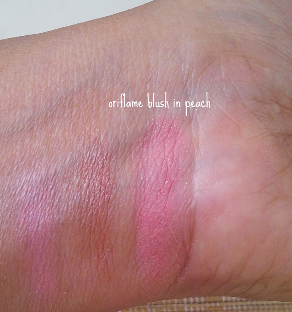 Oriflame Sweden Beauty Blush in Glowing Peach: Review