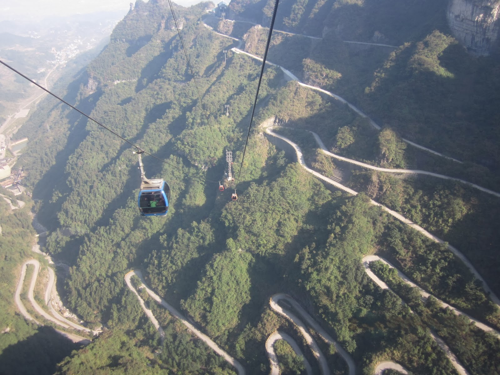Tianmen Mountain Heaven S Gate Mountain China