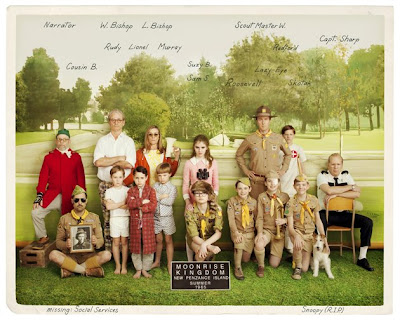 Moonrise Kingdom Película