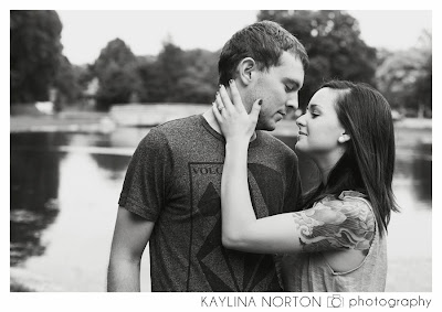 Park of Roses Engagement Pictures
