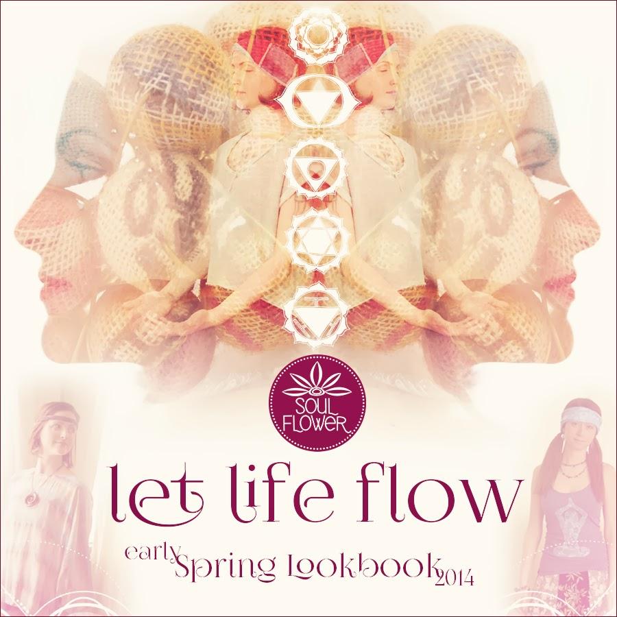 fb lookbook - Let Life Flow: Soul Flower's Early Spring Lookbook