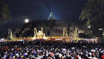 Candi Borobudur pemegang rekor dunia (ANTARA/Anis Efizudin)