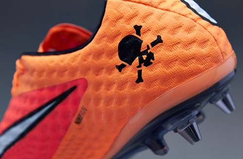 Nike Hypervenom Phantom SG Pro with Atomic Orange
