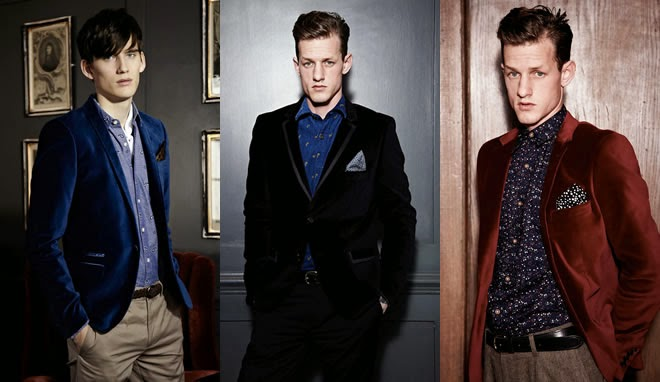 Men`s USA: Blue Velvet Blazer is famous among the all generation