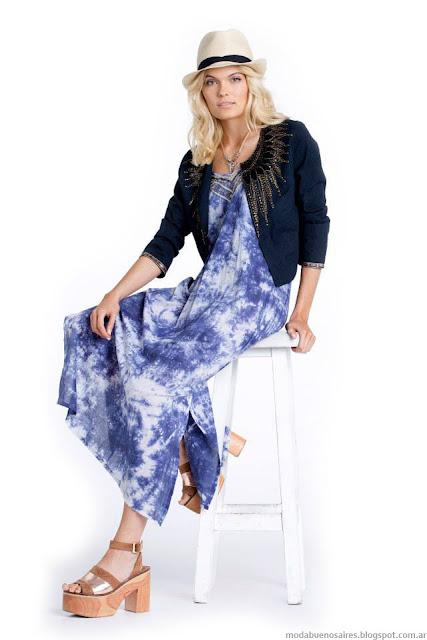 Vestidos verano 2016. Moda verano 2016 Kevingston Mujer.