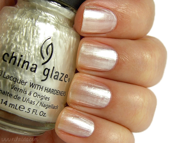 China Glaze - Platinum Pearl