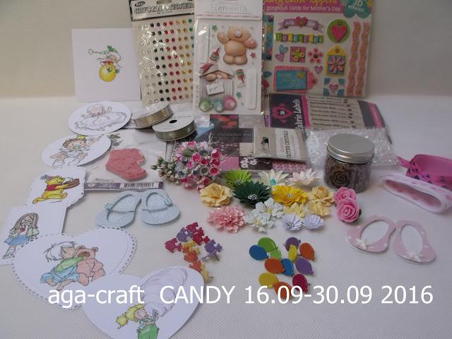 """candy w """" AGA-CRAFT"""""""