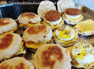 Copycat McDonald's Sausage Egg McMuffins