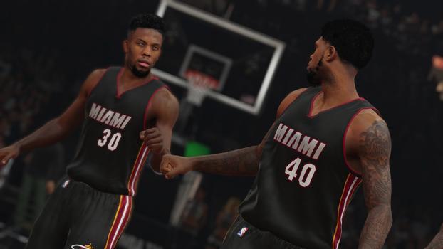 Miami Heat NBA 2K15 Screenshot