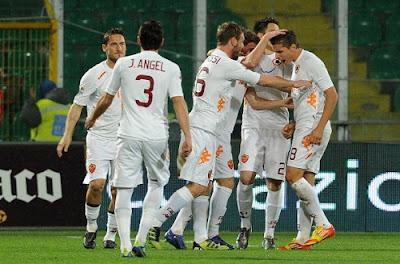 Palermo Roma 0-1 highlights sky