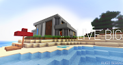 Minecraft House Wallpaper