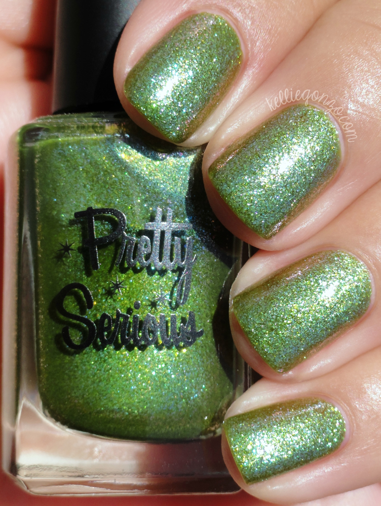 Pretty Serious - Swatch and Learn // kelliegonzo