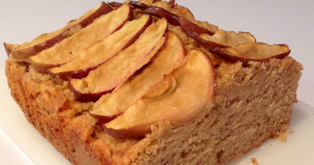 Almond And Apple Loaf Tin Cake