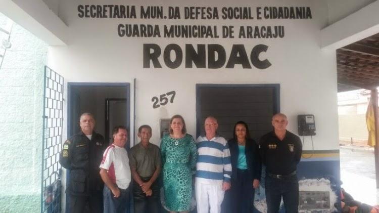 Secretária de Defesa Social e Conselho de Segurança do Médici visitam futuras instalações de base avançada Guarda de Aracaju