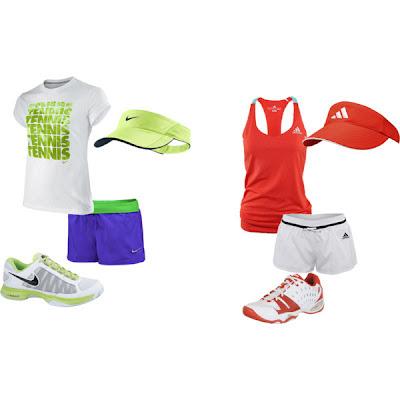 Naše oblečenie na tenis