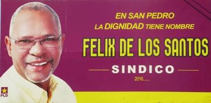 Felix De Los Santos  SINDICO: