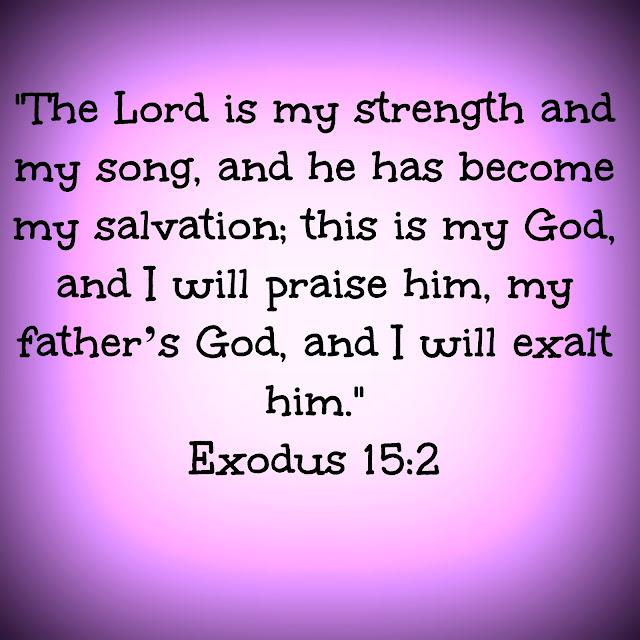 Exodus 15:2 - Sarah E. Brooks