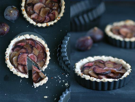 Tartelettes aux figues - Cuisiner figues fraiches ...