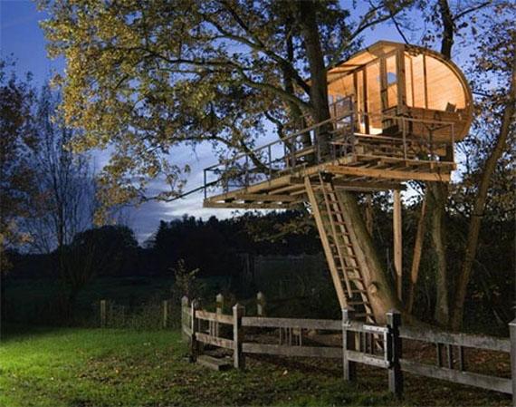 Estremamente Casa sull'albero: come realizzarne una davvero eco-chic! XI67