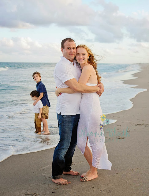 Boca Raton Family baby beach photographer Naomi Bluth