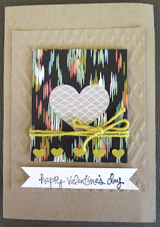 Hearts border punch zena kennedy independent stampin up demonstrator