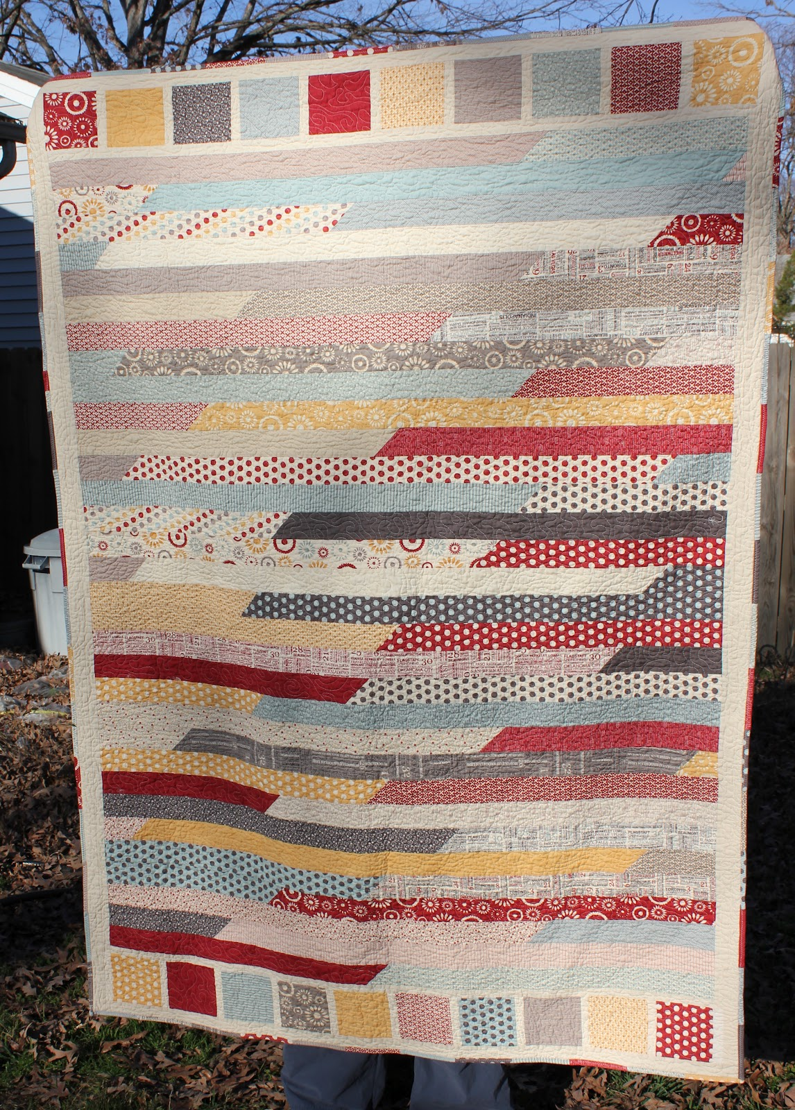 Quilt Inspiration: Spaghetti, potato chips and jelly rolls
