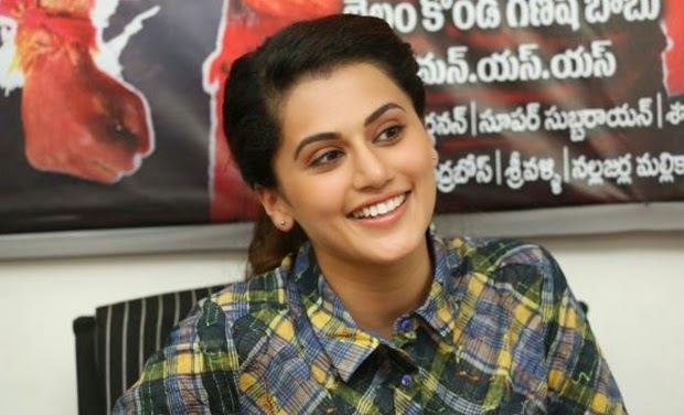 """Ganga"" making Tapsee smile"
