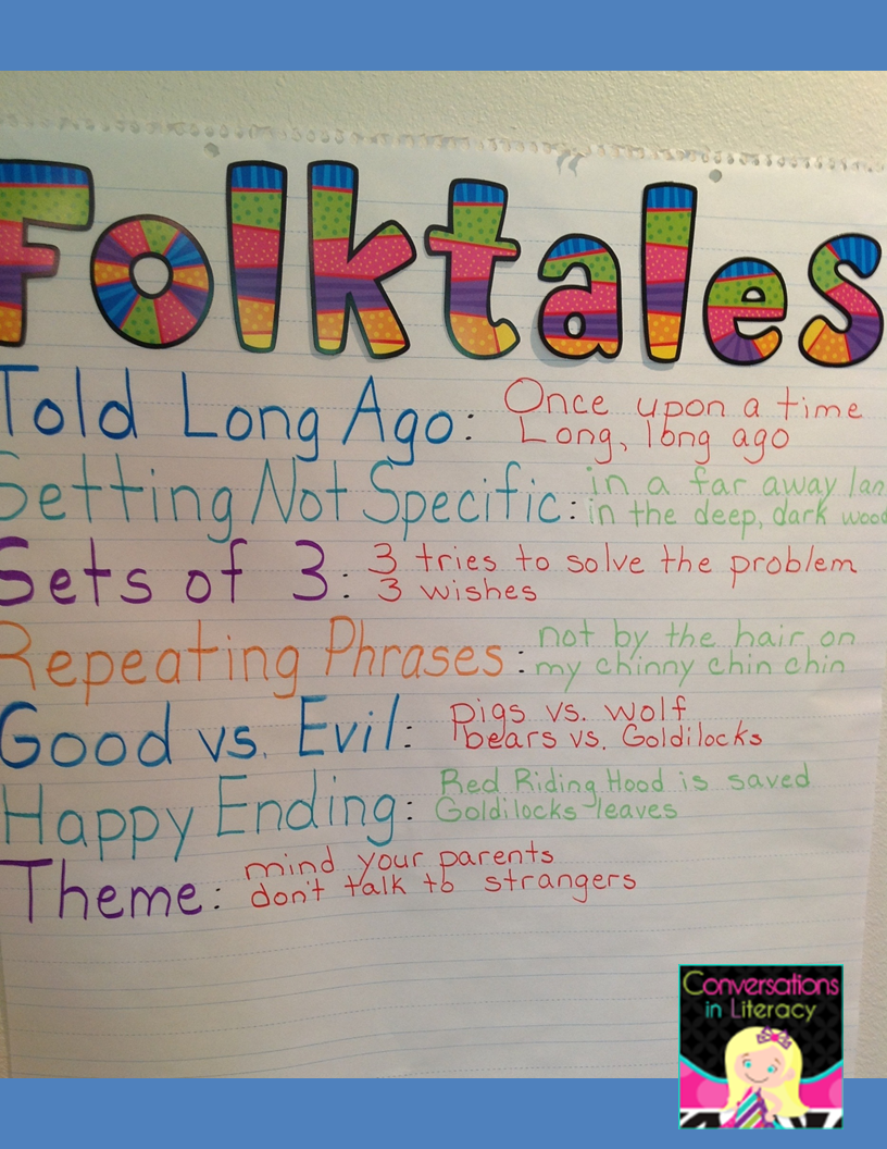 Folktale Unit and activities