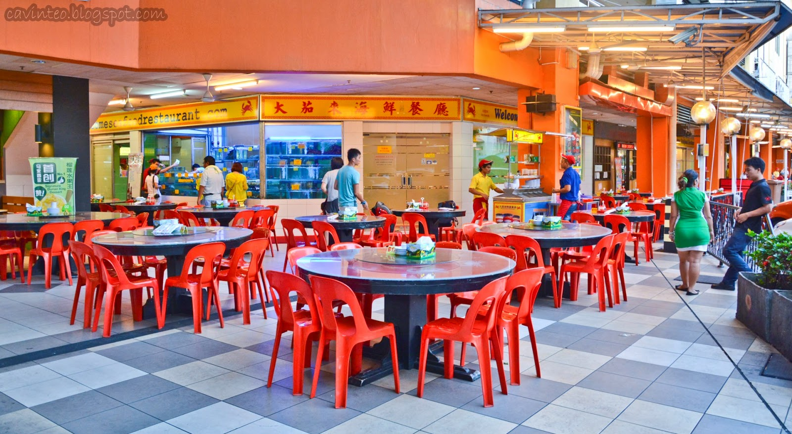 Entree kibbles welcome seafood restaurant 大茄来海鲜餐厅