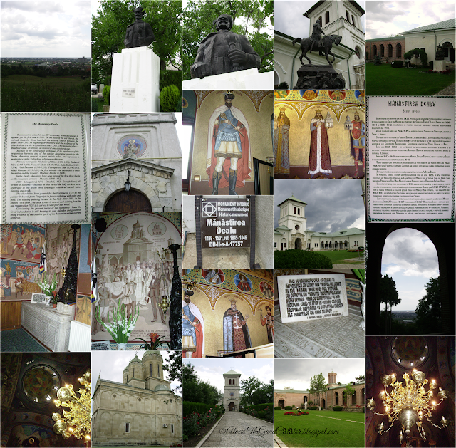 """Dealu Monastery is a 15th-century monastery in Dâmboviţa County, Romania, located 6 km north of Târgovişte.  The church of the monastery is dedicated to Saint Nicholas."""