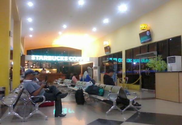Ruang Tunggu Keberangkatan Bandara Balikpapan