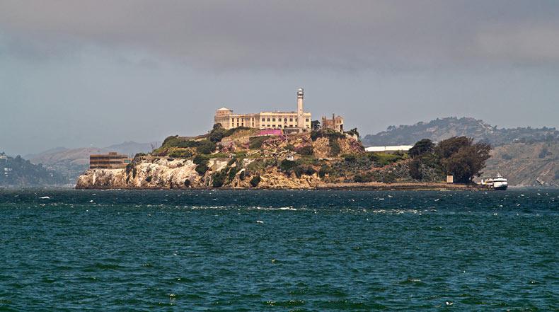 La  Isla de Alcatraz, la cárcel de los criminales más notorios de la historia estadounidense