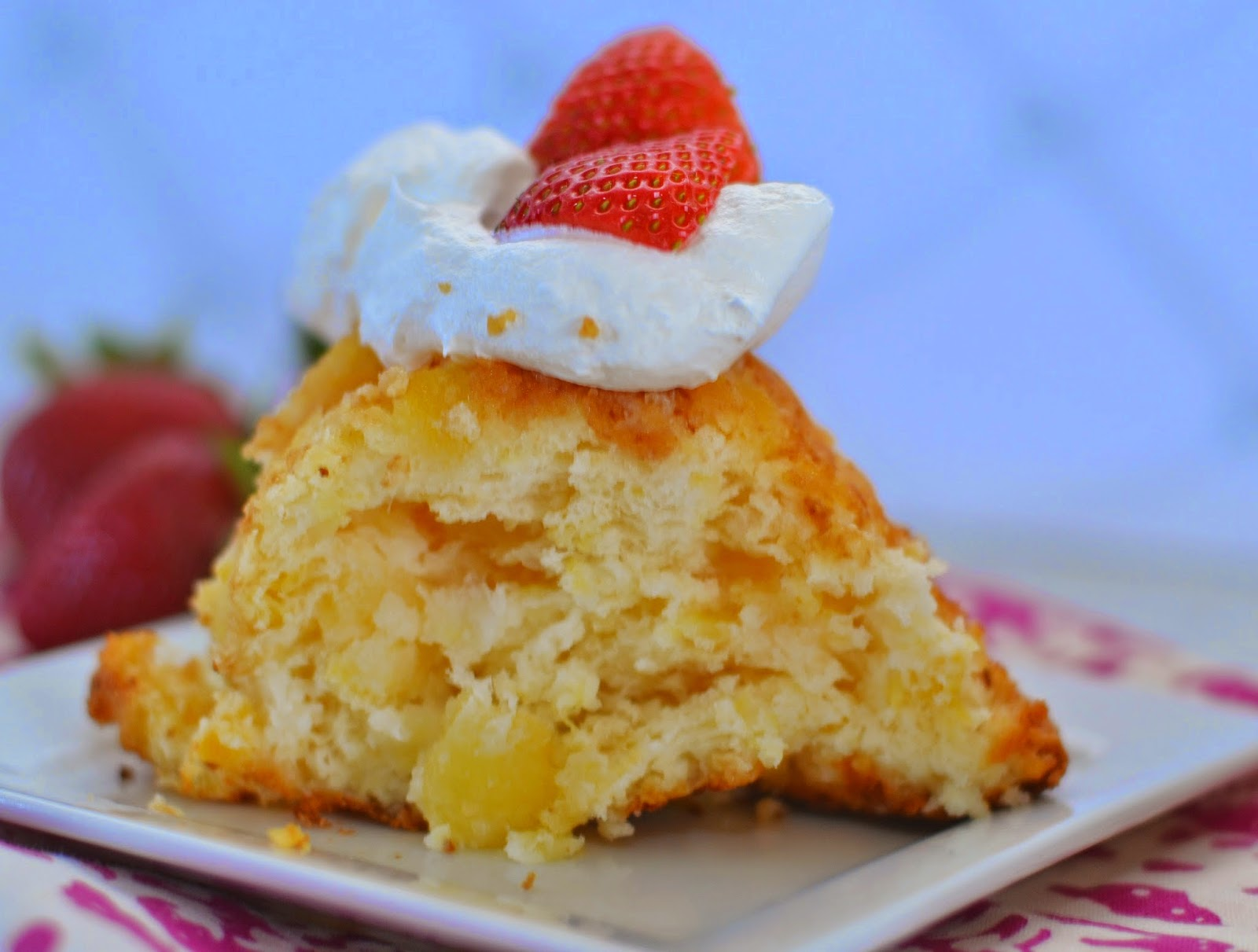 2 Ingredient Pineapple Angel Food Cake Recipe Building