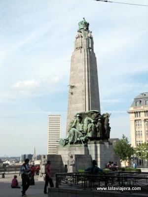 Monumento Infanteria Belga, Bruselas