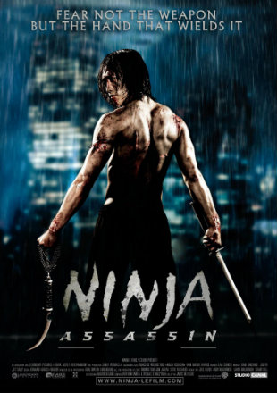 Ninja Assassin 2009 Dual Audio 720p BluRay x264 [Hindi – English]