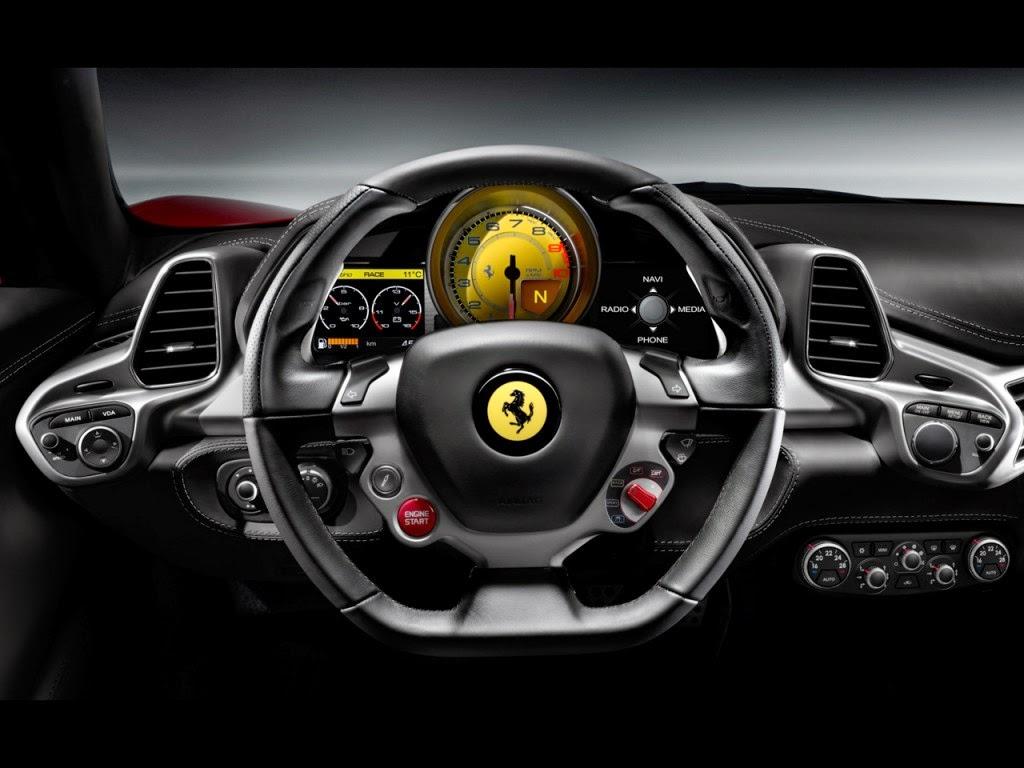 Ferrari 458 Italia Manettino