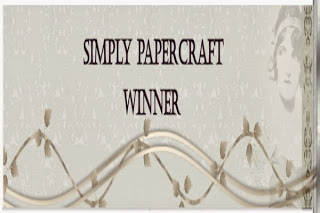 Winner - Simply Papercraft