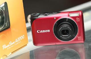 Canon PowerShoot A220 cuma 600rb an bekas