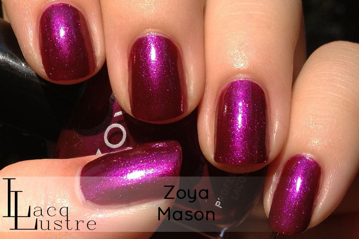 Zoya Mason swatchZoya Mason