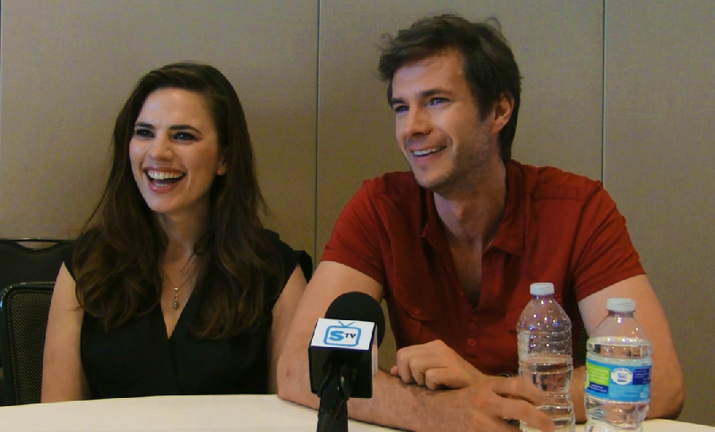 Agent Carter - SpoilerTV Comic-Con Interviews w/ Hayley Atwell, James D'Arcy & Executive Producers