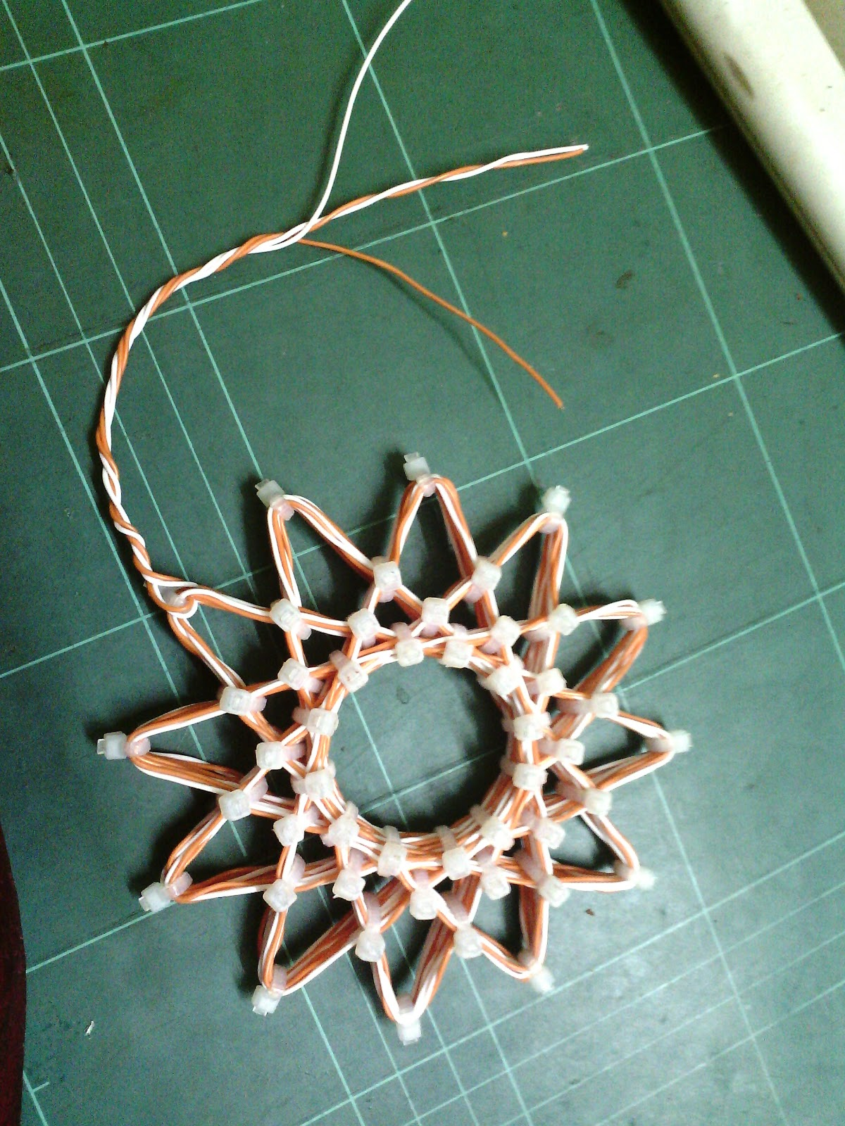 Psychoactive Gold Bifilar Wound Starship Rodin Coil With Winding Diagram These Are The Tools Needed To Fit In Cable Ties Get Right Shape