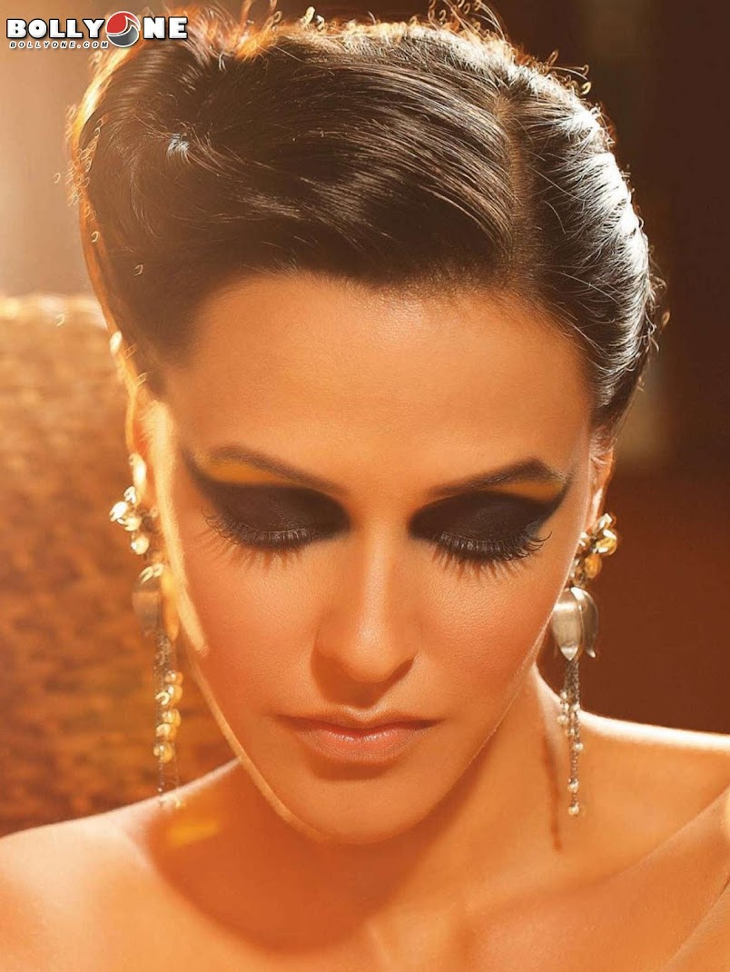 Neha Dhupia Face Close Up HQ Scans