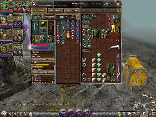 Dungeon Siege 2 - Inventory Description