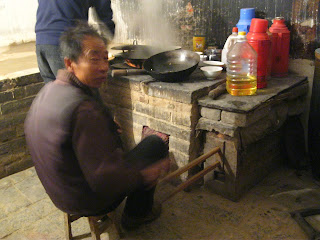 cooking in a cave china travel