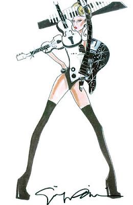 Kostum Lady Gaga