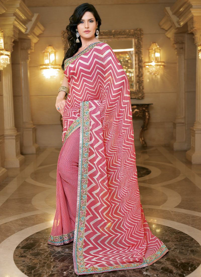 Fashion Style Saree Model