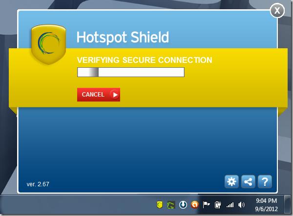 hss vpn free  windows 7