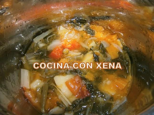 Cocina con xena crema de verduras en gm e y d for Cocina con xena olla gm d