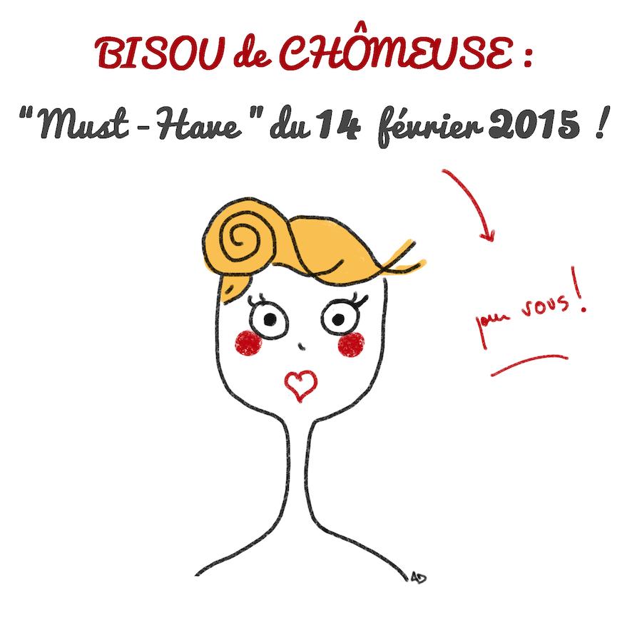 Bisous, amour, amoureux, saint valentin, fête, tendresse, embrasser, chômage, pôle emploi, Illustration, dessin, humour